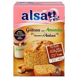 Alsa Préparation Gâteau Amandes Saveur D'Antan