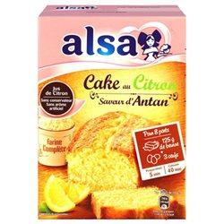 Alsa Préparation Cake Citron Saveur D'Antan