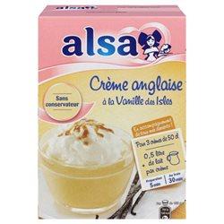 Alsa Préparation Crème Anglaise Vanille Des Isles