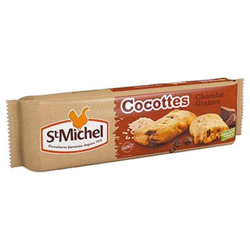 St Michel Cocottes Chocolat et Céréales 140g (lot de 3)
