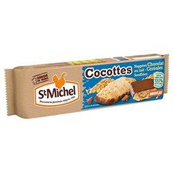 St Michel Cocottes Chocolat au lait et Céréales 140g (lot de 3)
