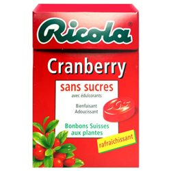 Ricola Cranberry (lot de 6)