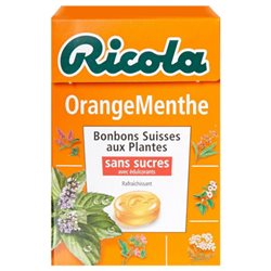 Ricola Orange Menthe (lot de 6)