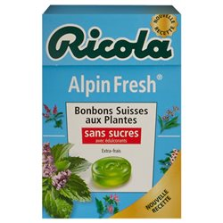 Ricola Alpin Fresh (lot de 6)