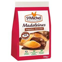 St Michel Madeleines Nappées Chocolat à emporter 350g (lot de 3)