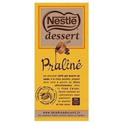 Nestlé Dessert Tablette Chocolat Praliné 170g (lot de 3)