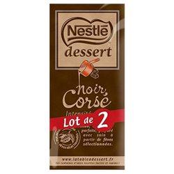 Nestlé Dessert Tablette Noir Corsé (lot de 2)
