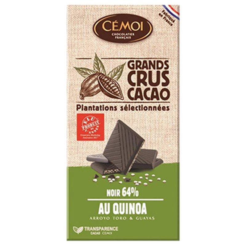 Cémoi Bio Noir Quinoa 100g (lot de 3)