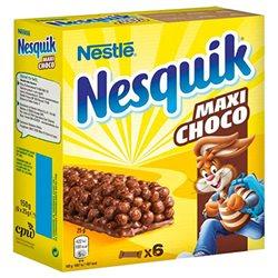 Nesquik Barre Céréales Maxi Choco 150g (lot de 3)