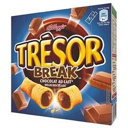 Tresor Break Barre Chocolat au Lait 130g (lot de 3)