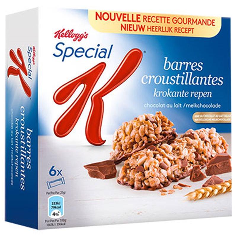 Special K Barre Céréales Chocolat au Lait 120g (lot de 3)