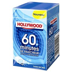 Hollywood 60 Minutes De Fraicheur Menthe Forte 3 Etuis (lot de 18)