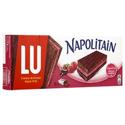 Napolitain Chocolat Framboise 174g (lot de 3)