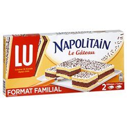 Napolitain Gâteau 400g (lot de 3)