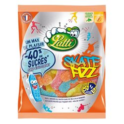 Lutti Skate Fizz 130g