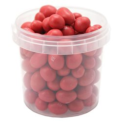 M&M's Red Peanut Box Rouge